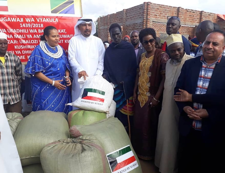 Kuwait donates 20 million shillings worth of humanitarian aid to flood victims in Same Kilimanjaro District